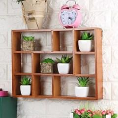 원목 벽걸이선반/인테리어 벽선반 벽장식 장식선반