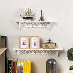 하트 인테리어 벽걸이선반 2종세트/DIY 벽선반 벽장식