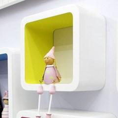 큐브벽걸이선반/거실 진열대 인테리어 수납 벽선반