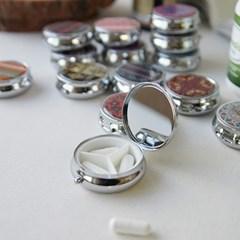 에스닉 거울 약통 (랜덤디자인)