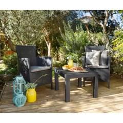 알리베 로사리오 라운지 정원 테이블&의자 세트
