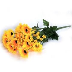 3+2행사 9대 해바라기 인테리어조화 부쉬 고급조화 산소꽃 성묘꽃