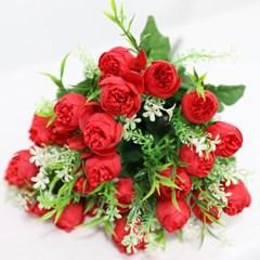 3+2행사 케이라로즈 인테리어조화 부쉬 고급조화 산소꽃 성묘꽃