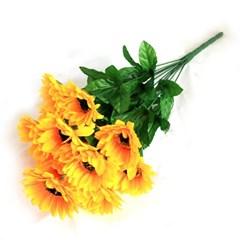 3+2행사 12대 해바라기 인테리어조화 부쉬 고급조화 산소꽃 성묘꽃