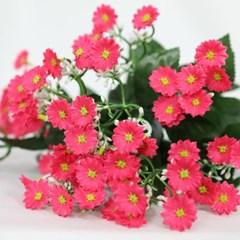 3+2행사 미니데이지 인테리어조화 부쉬 고급조화 산소꽃 성묘꽃