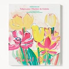캔버스 보테니컬 꽃 튤립 그림 아트 액자 라울 뒤피 1