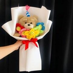[정품] 생일 테드2 곰돌이 인형꽃다발