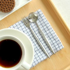 티타늄코팅 메탈실버 커피스푼