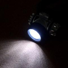 7구 LED 라이팅 헤드랜턴/등산캠핑낚시 후레쉬 손전등