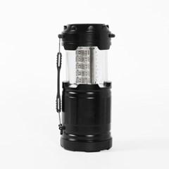 30구 LED 손전등 겸용 캠핑랜턴 /슬라이드 led랜턴