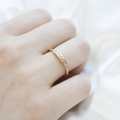 18k 반지 이니셜 링_(1098173)