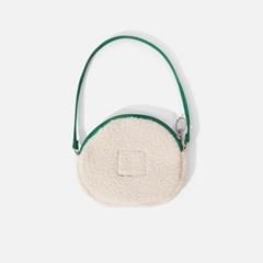 SWSW X MARY ROUND BAG Ecru-green