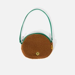 SWSW BOA ROUND BAG Brown-green