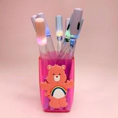 [맙소사잡화점] 무지개 곰돌이 펜 꽂이