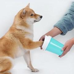 러브펫 애견 발세척컵/ 애완 와셔클리너컵
