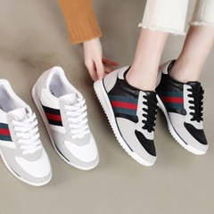 kami et muse Color point suede combi sneakers_KM19w301