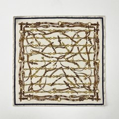 Chain Belt Square Petit Scarf