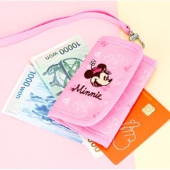 미니마우스 목걸이 지갑