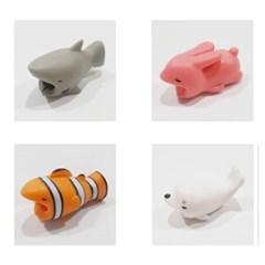 귀여운 동물 케이블 보호캡