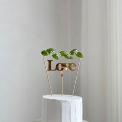 데코픽 Love set_2type(명조체,필기체)(유광,무광)