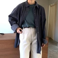 조쉬 코듀로이 오버핏 셔츠