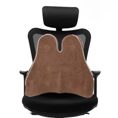 레두 메모리폼 허리쿠션 / 사무실 의자 등받이쿠션