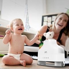유아용 침실용 병원용 무세균 하이브리드 가습기 휴미