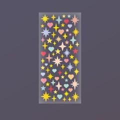 [스튜디오 퐁듀] sparkling  스파클링 씰스티커