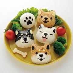 강아지 주먹밥틀 주먹밥만들기 소풍 도시락 데코