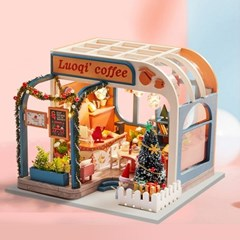 DIY 미니어처 하우스 - 크리스마스 커피숍_(1278435)