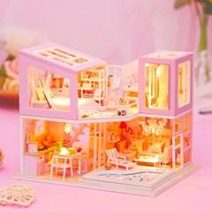 DIY 미니어처 하우스 - 핑크 풀빌라_(1278423)