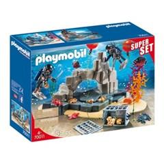 플레이모빌 슈퍼세트-전술 다이빙 부대(70011)