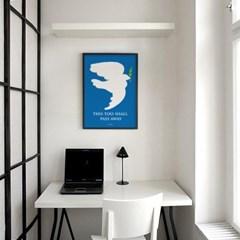 이또한 지나가리라3 M 유니크 인테리어 디자인 포스터