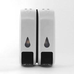 물방울 욕실 디스펜서 2구 / 300ml 물비누디스펜서