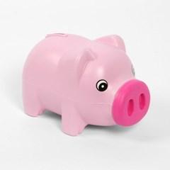 통통 파스텔 핑크 돼지 저금통 /저축통 팬시저금통