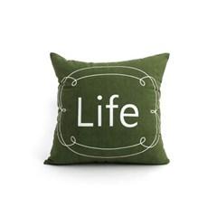 쿠션커버- 라이프 LIFE_(1572970)