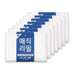 센스큐 매직리필 280 7매입 22L 25L 27L 호환 리필 비닐봉투
