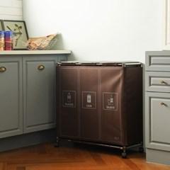 [연속리필사용] 센스큐 이지핏 매직 가정용 재활용 분리수거함 3P
