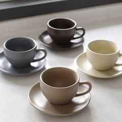에크렌 노블 커피잔 1인세트 320ml(4color)_(1862847)