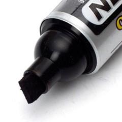 2p 7mm 유성 오일 매직(흑 적)