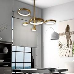 우주 6등 LED 국산 주방 식탁등 조명