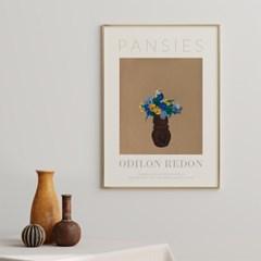 명화 꽃,드로잉 그림액자 12종 _ 오딜롱 르동 빈티지 포스터