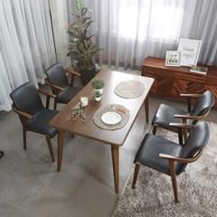 인츠 원목 4인 식탁테이블