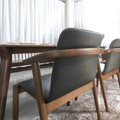 인츠 원목 1인 의자