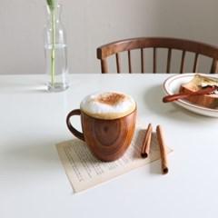 홈카페 우드 머그컵 / 모쿠 나무 커피잔 찻잔