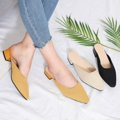 kami et muse Middle heel knit blofers_KM19w316
