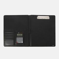 에쉬 A4 레포트화일/ 계산기내장 클립형 서류판