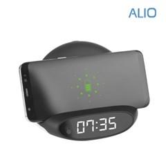 알리오 거치형 고속무선 충전 & LED시계 폴딩_(1198843)