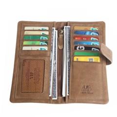[Bison Denim] 빈티지 장지갑 W4401-1K/가죽지갑/수제지갑