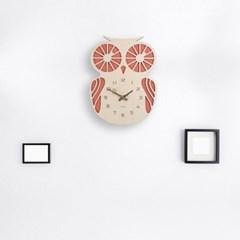 (ktk152)레드부엉이 시계_(355217)